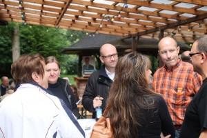 Im Gespräch auf dem Sommerfest der CDU in Wächtersbach