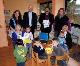 Peter Tauber im Kinderhaus, Foto: Wahlkreisbüro