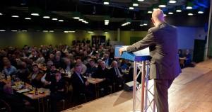 Parteitag zur Nominierung von Peter Tauber als Kandidat für die Bundestagswahl 2013. Foto: Tobias Koch
