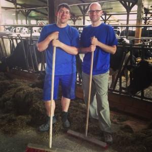 Hand anlegen: Praktikum auf dem Bauernhof
