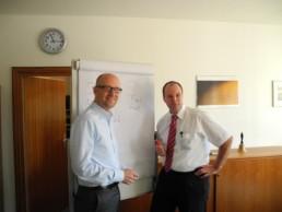 Tauber mit Dr. Quidde. Bild: Wahlkreisbüro