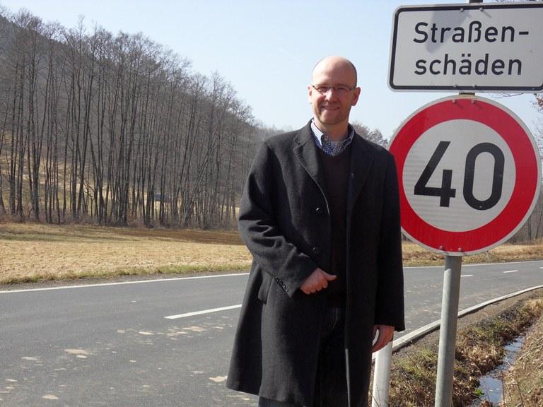 Freut sich über den Ausbau: Peter Tauber. Foto: Wahlkreisbüro
