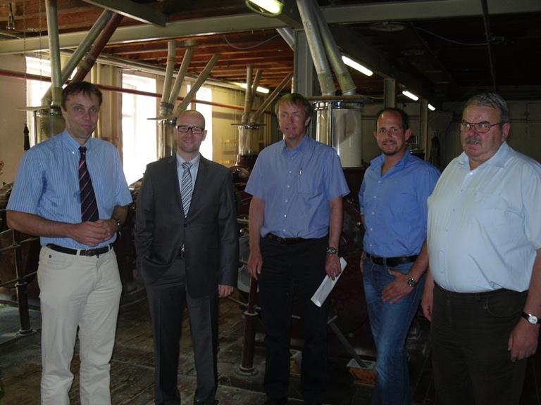 Peter Tauber während dem Besuch. Foto: Wahlkreisbüro