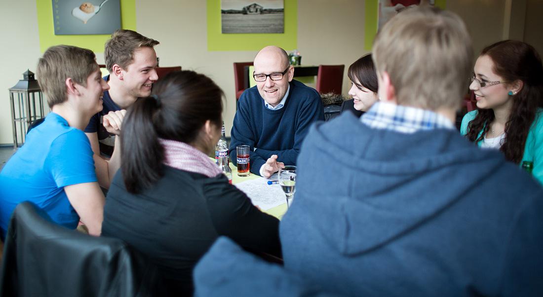 grimmelshausen-gymnasium – Dr. Peter Tauber