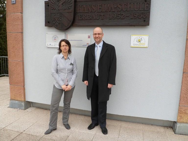 Peter Tauber in Sinntal Bild: Wahlkreisbüro