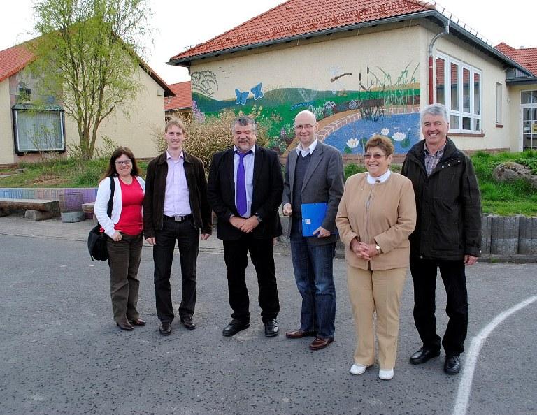 Tauber in Steinau. Bild: Wahlkreisbüro