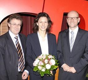 Tauber mit Reul und Leikert. Foto: CDU MKK