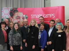 Schirmherr Peter Tauber eröffnet erstes Smart-Camp am GGG